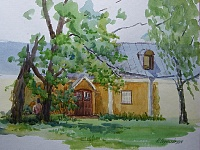 Sketch. House in Muranovo