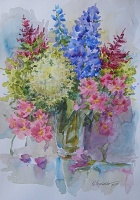 "PICTURE ""Blue delphinium"""