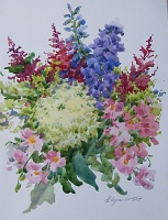 "PICTURE ""bouquet with hydrangea"""