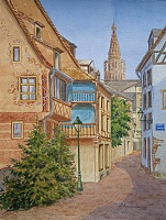 "PICTURE ""Street St. Helena. Strasbourg """