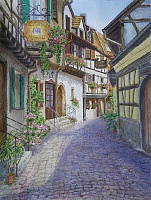 "PICTURE ""Street of Alsace. Ensisheim"""
