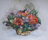 "the Painting ""Bouquet"""