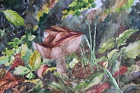 "Painting ""Gifts of Autumn. boletus """