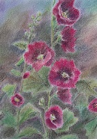"Painting ""Malva Purpurea"""