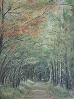 "The Painting ""Autumn alley"""