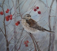 the Painting «ouzel»