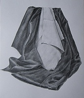 "drawing ""Draperies: light to dark"""